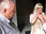 Kent Johnson works with actors in Marat Sade