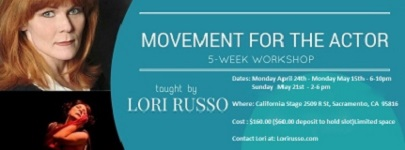 Movement for the Actor Workshop with Lori Russo